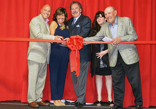 Landrum Showcase Theater Ribbon Cutting Ceremony Whitestone NY