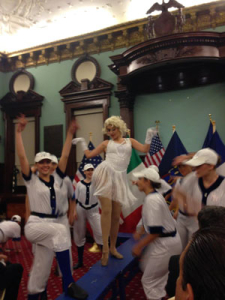 Landrum All Stars Perform at City Hall NYC October 2014 (1)