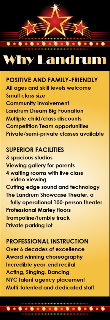 Why Landrum School of Performing Arts Queens NY