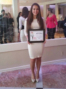 Savannah Coppola Girl of Merit 2015