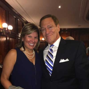 Annette Vallone and Joe Piscopo at NYC Hall 2015