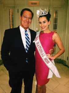Landrum Alumni Katie McQuade and Actor Joe Piscopo at NYC Hall Italian American Heritage Foundation 2015