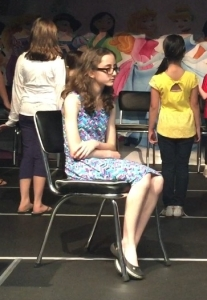 Hope as Frenchy in Grease the Musical